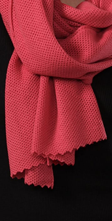 Marc by Marc Jacobs Jones Fishnet Scarf