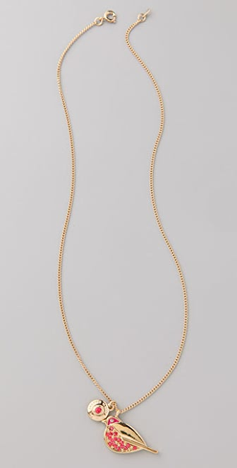 Marc by Marc Jacobs Save the Birds Snow Bunting Donna Necklace