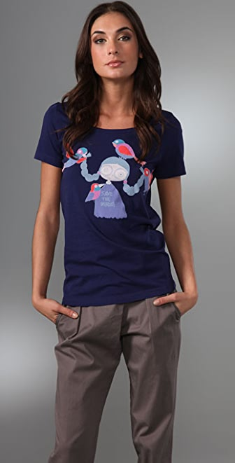 Marc by Marc Jacobs Miss Marc Saves The Birds Tee