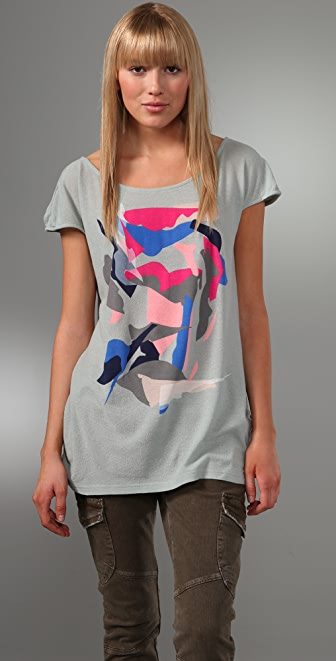 Marc by Marc Jacobs Morgan Collage Tee