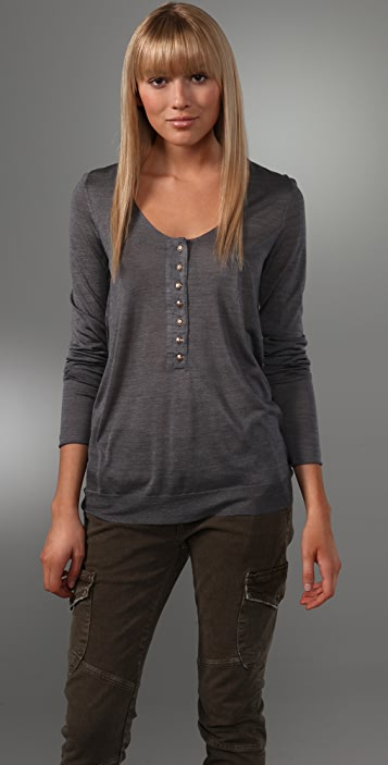 Marc by Marc Jacobs Uriel Henley Sweater