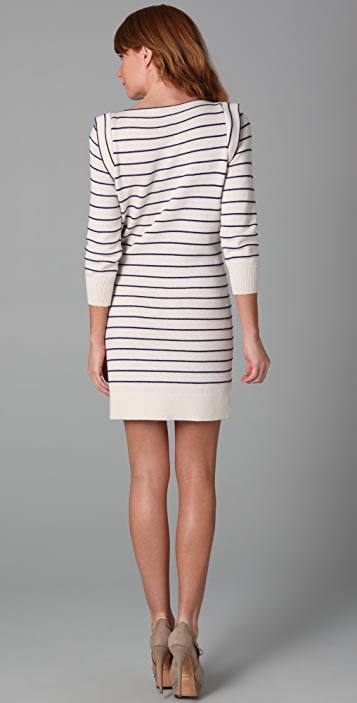 Marc by Marc Jacobs Willow Stripe Sweater Dress