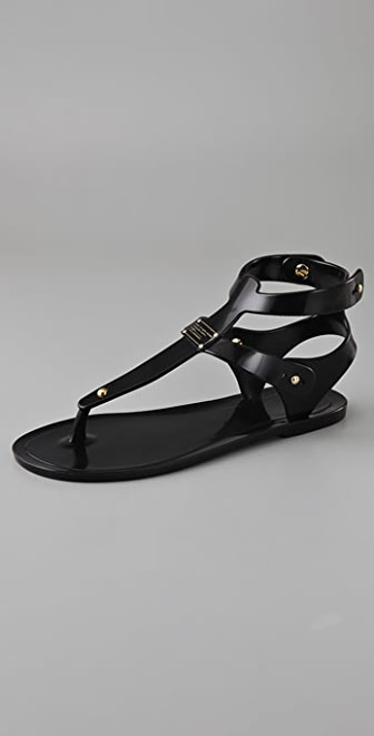 Marc by Marc Jacobs Jelly Flat Sandals
