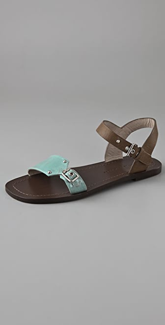 Marc by Marc Jacobs Flat Turnlock Sandals