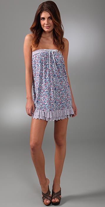 Marc by Marc Jacobs Folly Floral Ruffled Cover Up Dress