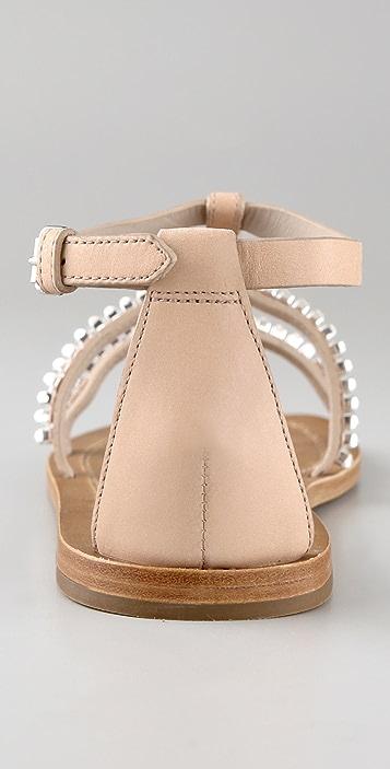 Marc by Marc Jacobs Rhinestone Flat Sandals