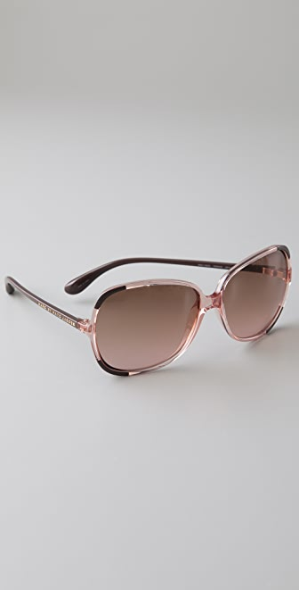 Marc by Marc Jacobs Mirror Oversized Sunglasses