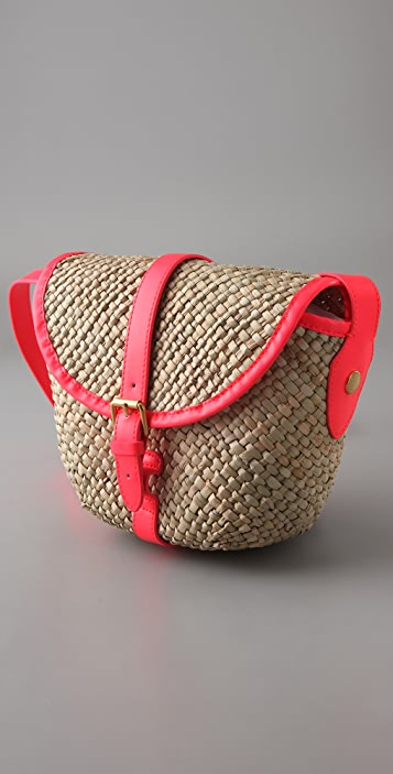 Marc by Marc Jacobs Preppy Straw Canteen Messenger Bag