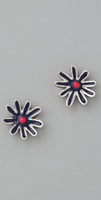 Marc by Marc Jacobs Miss Marc Flower Stud Earrings