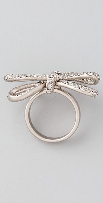 Marc by Marc Jacobs Bianca Pave Bow Ring