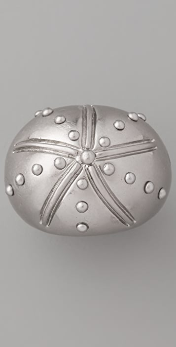 Marc by Marc Jacobs Hanna On A Boat Metal Sea Urchin Ring