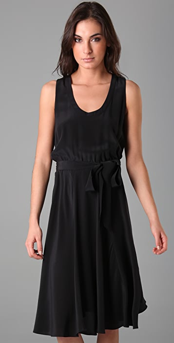 Marc by Marc Jacobs Simone Solid Silk Dress