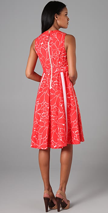 Marc by Marc Jacobs Pleated Sabine Flower Dress