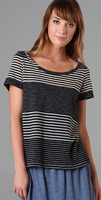Marc by Marc Jacobs Andersen Stripe Jersey Tee