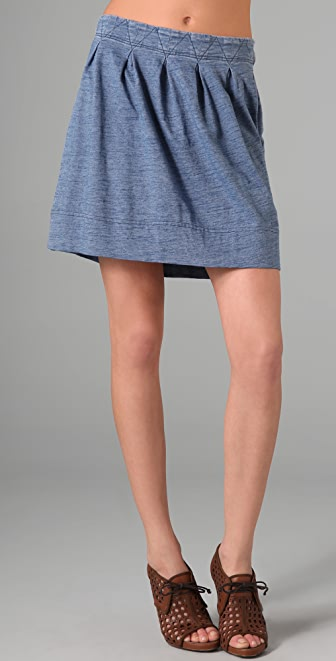 Marc by Marc Jacobs Indigo Knit Skirt