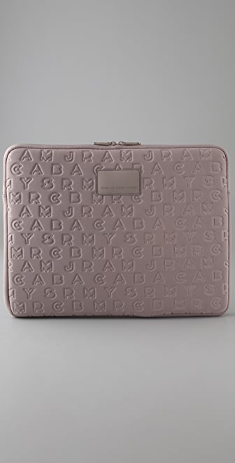 "Marc by Marc Jacobs Jumble Logo 15"" Laptop Case"