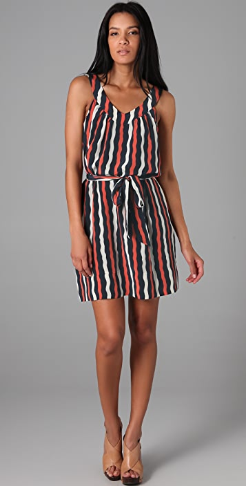 Marc by Marc Jacobs 10th Anniversary Bow Wow Stripe Dress