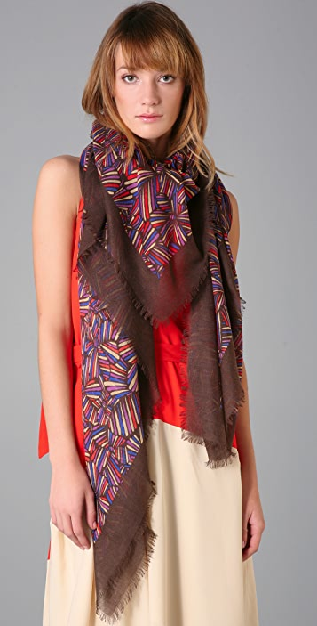 Marc by Marc Jacobs Arielle Bloom Scarf