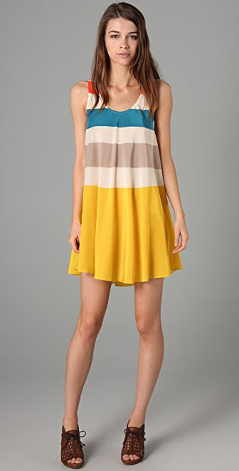 Marc by Marc Jacobs Simone Stripe Short Dress