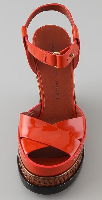 Marc by Marc Jacobs Platform Wedge Sandals