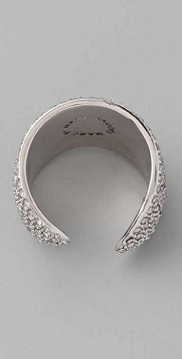 Marc by Marc Jacobs Admiral Facet Marquis Ring