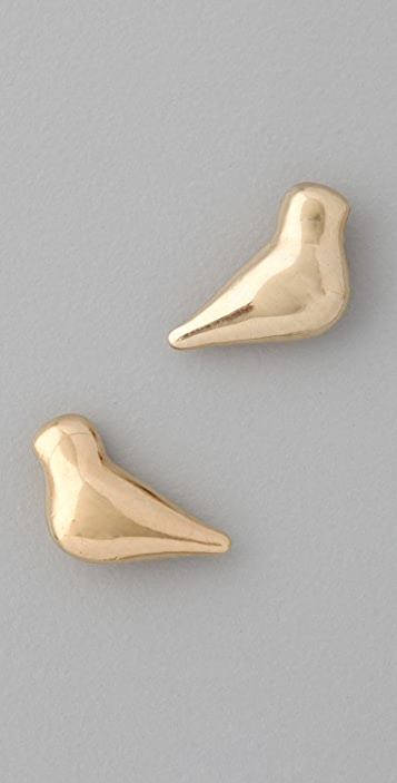 Marc by Marc Jacobs Love Dove Stud Earrings