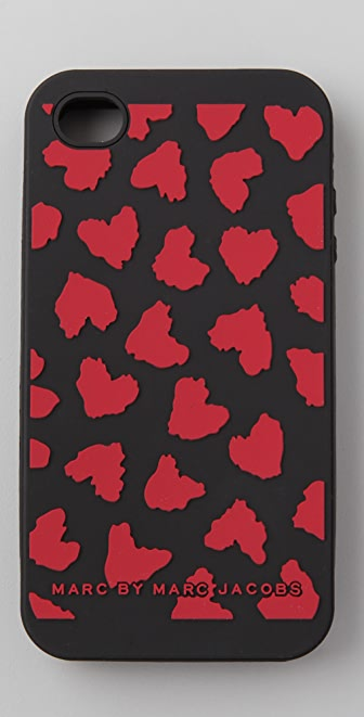 Marc by Marc Jacobs Hearts Wild iPhone 4 Cover