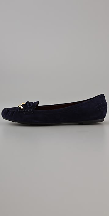 Marc by Marc Jacobs Flat Suede Moccasins