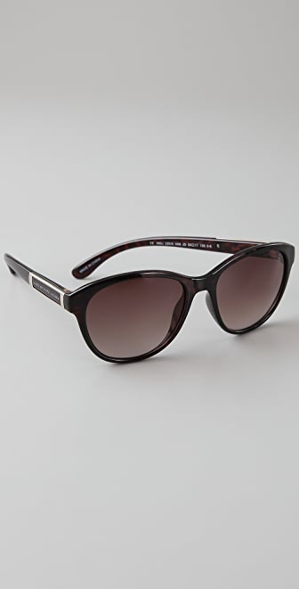 Marc by Marc Jacobs Metal Side Logo Sunglasses