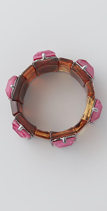 Marc by Marc Jacobs Faceted Stretch Bracelet