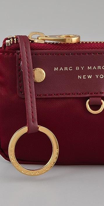 Marc by Marc Jacobs Preppy Nylon Key Pouch