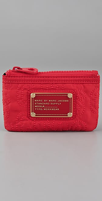 Marc by Marc Jacobs Pretty Nylon Key Pouch
