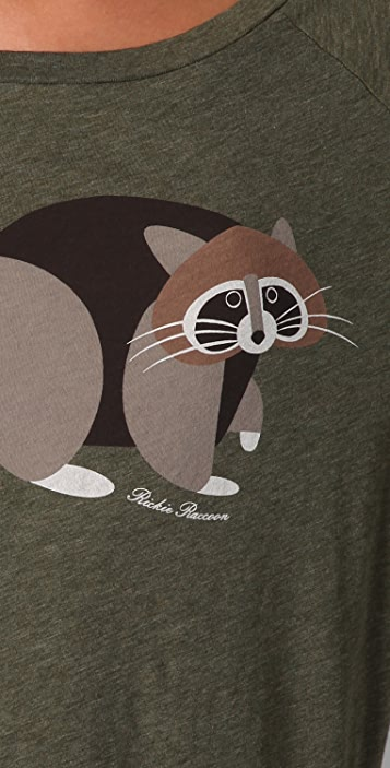 Marc by Marc Jacobs Rickie Raccoon Tee