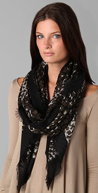 Marc by Marc Jacobs Jungle Scarf