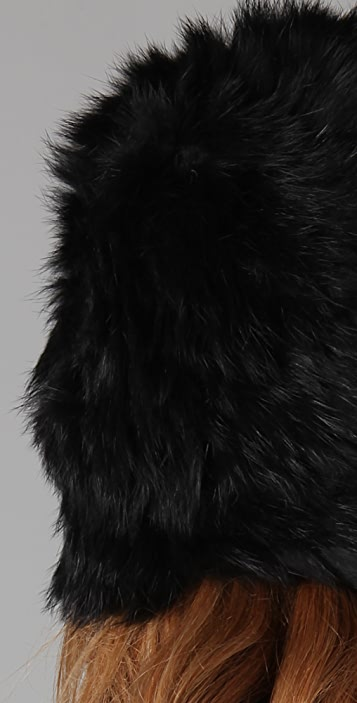 Marc by Marc Jacobs Hayworth Fur Hat