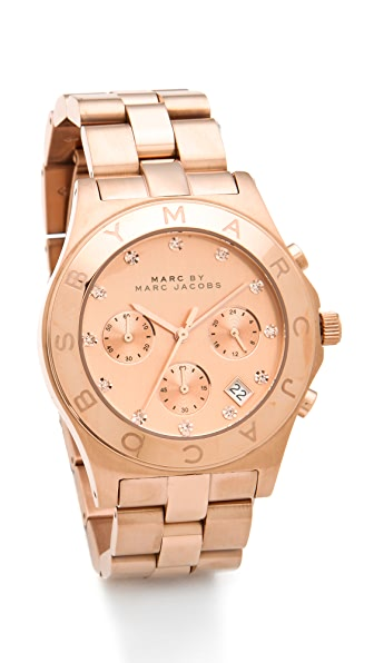 Marc by Marc Jacobs Large Blade Chrono Watch