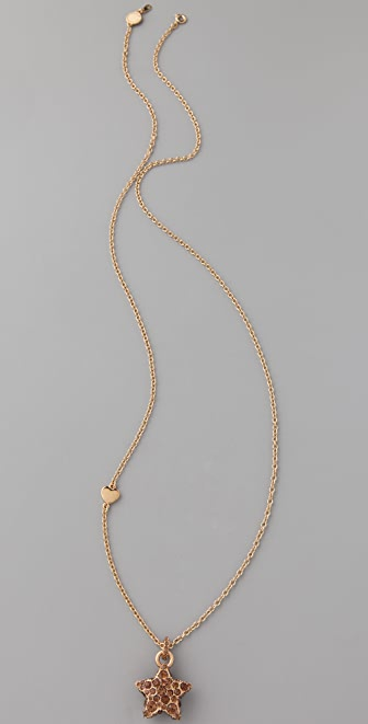 Marc by Marc Jacobs Pave Star Pendant Necklace