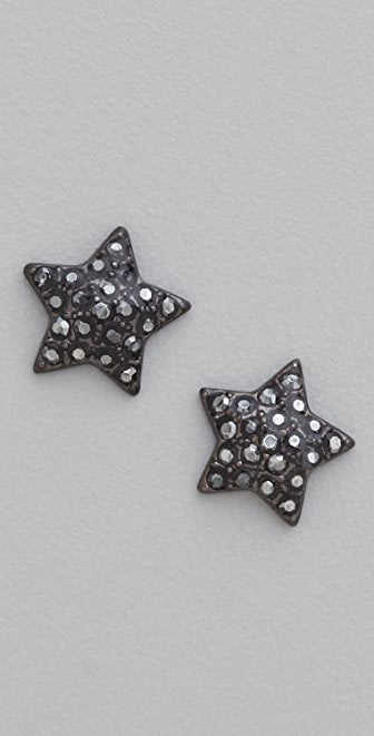 Marc by Marc Jacobs Pave Star Stud Earrings