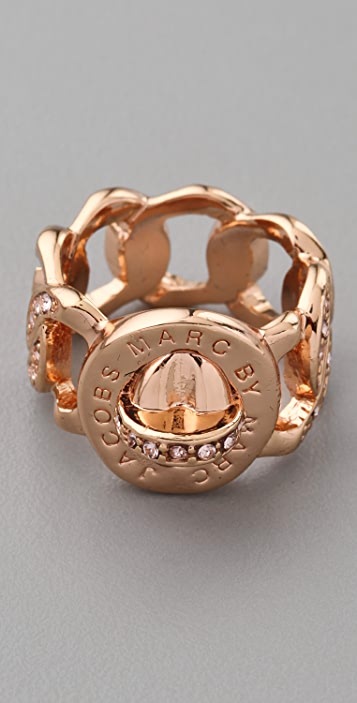 Marc by Marc Jacobs Pave Katie Ring