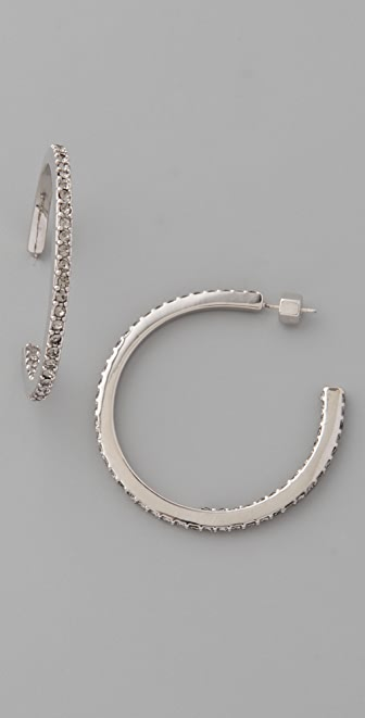 Marc by Marc Jacobs Pave Hoops