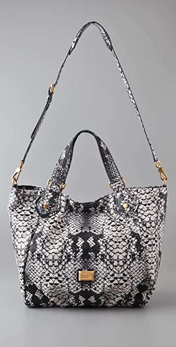 Marc by Marc Jacobs Supersonic Snake Print Fran Tote