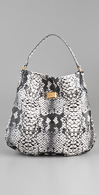 Marc by Marc Jacobs Supersonic Snake Print Hillier Hobo