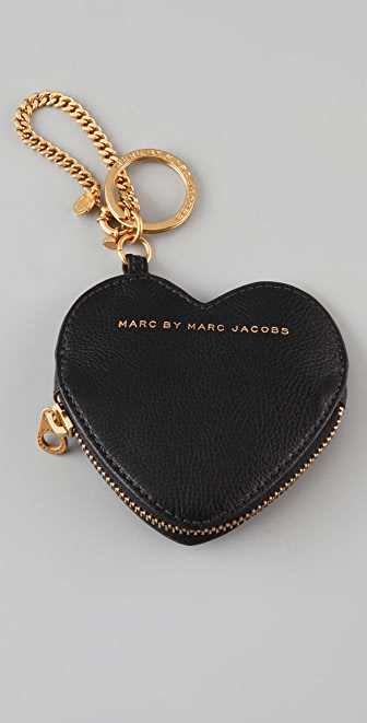Marc by Marc Jacobs Heart Keychain