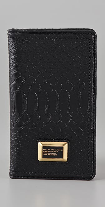Marc by Marc Jacobs Supersonic Snake Travel Wallet / Passport Sleeve