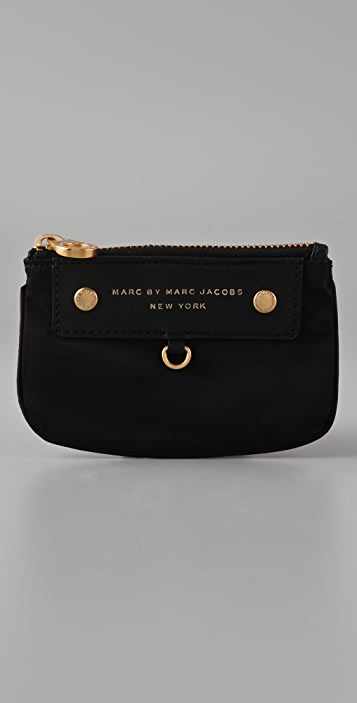 Marc by Marc Jacobs Preppy Nylon Key Wallet