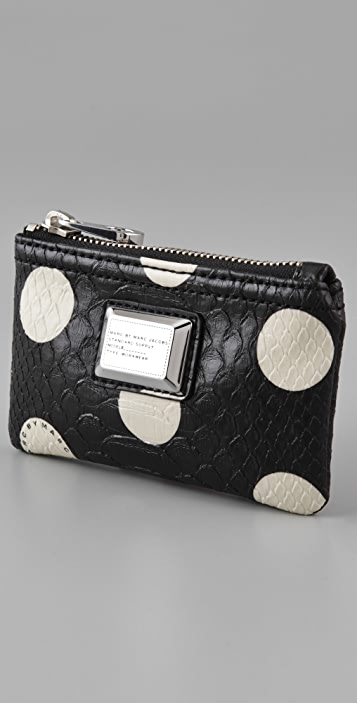 Marc by Marc Jacobs Dotty Snake Key Wallet