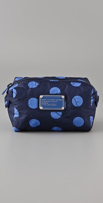 Marc by Marc Jacobs Pretty Nylon Printed Small Cosmetic Case