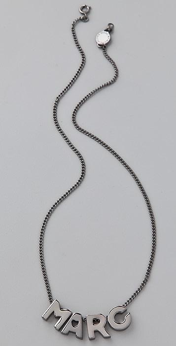 Marc by Marc Jacobs Mini Charm Jumbles Marc Necklace