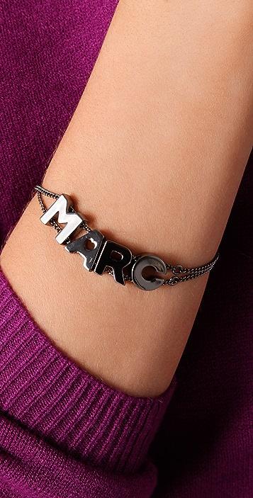 Marc by Marc Jacobs Mini Charm Marc Slide Bracelet