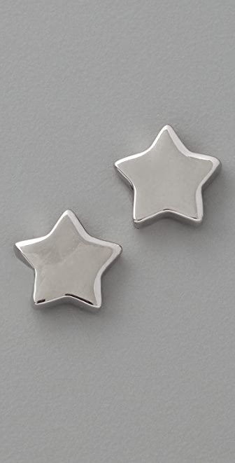 Marc by Marc Jacobs Mini Charm Star Stud Earrings